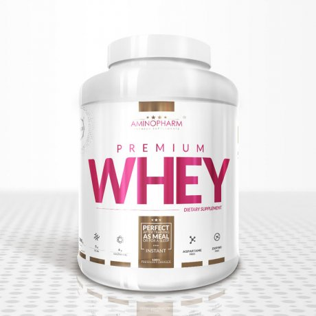 AminoPharm Nutrition Premium Whey Protein 2000g