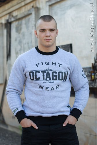 Bluza Octagon Basic Fight Wear szara bez kaptura