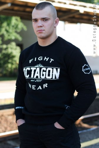 Bluza Octagon Basic Fight Wear czarna bez kaptura
