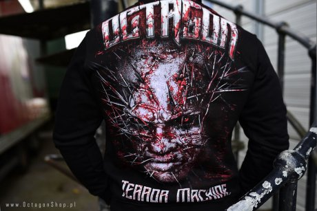 Bluza Octagon Terror Machine z kapturem