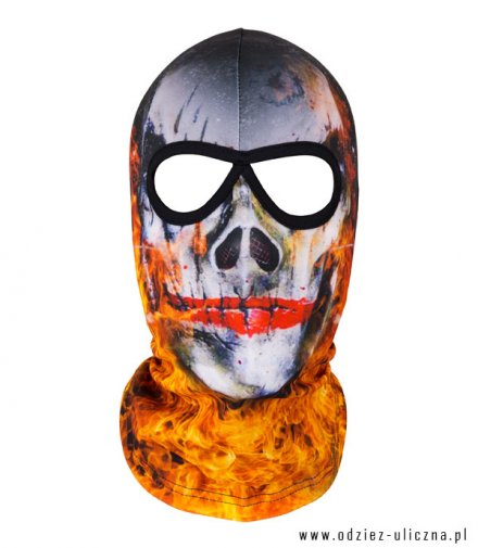 Kominiarka Skull in fire new