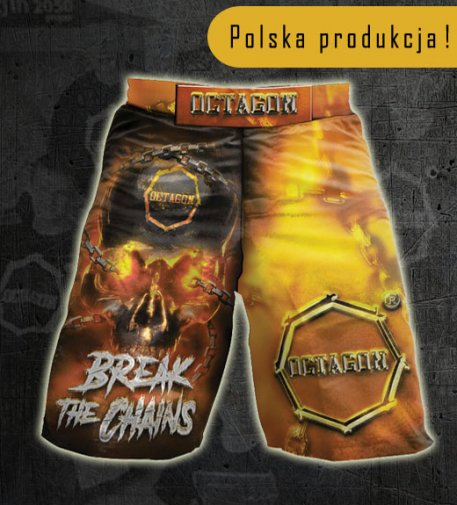 Spodenki MMA szorty Octagon Break The Chains