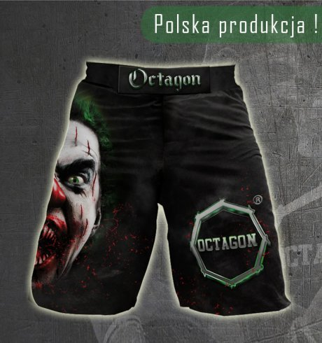 Spodenki MMA szorty Octagon Welcome to the Arena