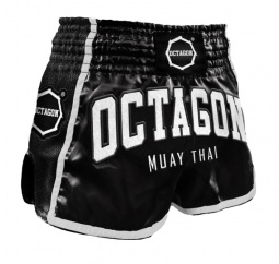 Spodenki Muay Thai Octagon Black