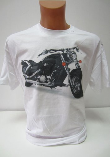 T-shirt Moto Chopper