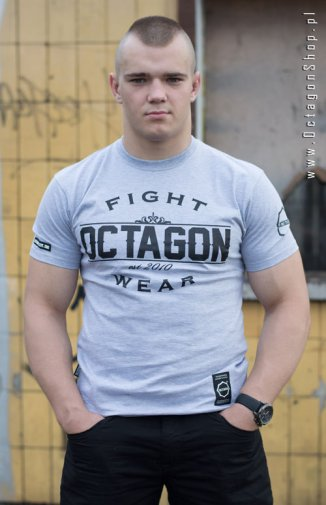T-shirt Octagon Basic Fight Wear szary