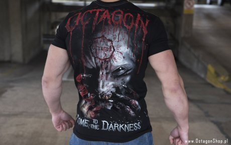 T-shirt Octagon Come to the Darkness