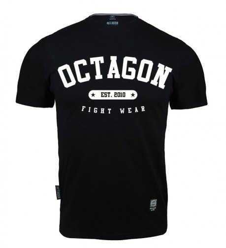 T-shirt Octagon Fight Wear est. 2010 czarny