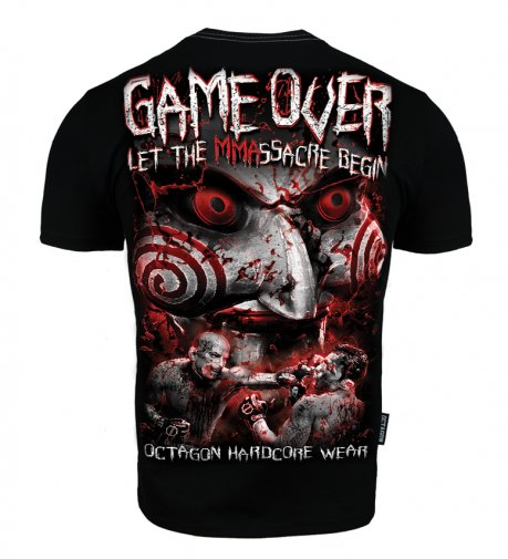T-shirt Octagon Game Over