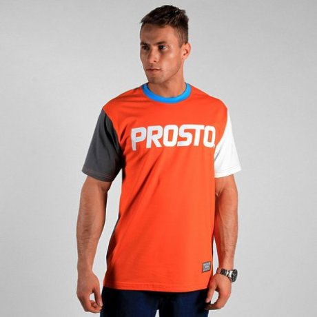 T-shirt PROSTO Isolated Orange