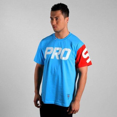 T-shirt PROSTO Isolated Light Blue