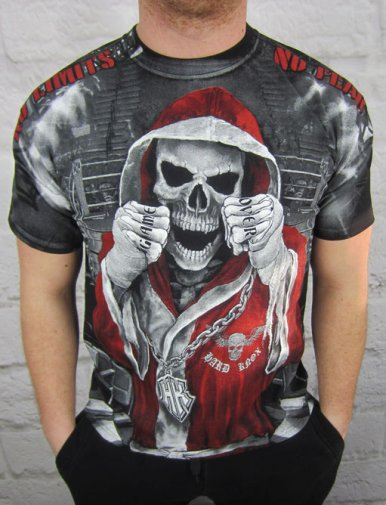 T-shirt Skull Boxer HD