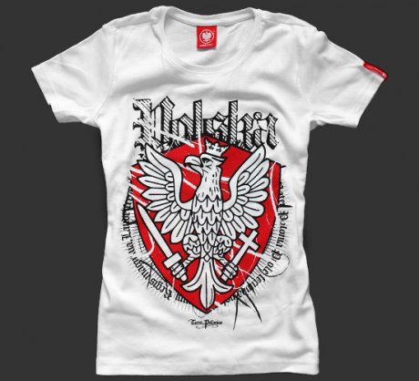 T-shirt Ultra Patriot Polska damski