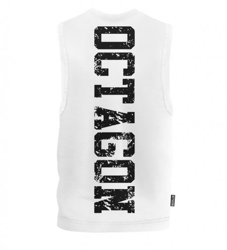 Bezrękawnik Octagon Fight Wear OCTAGON white