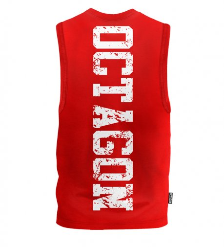 Bezrękawnik Octagon Fight Wear OCTAGON red