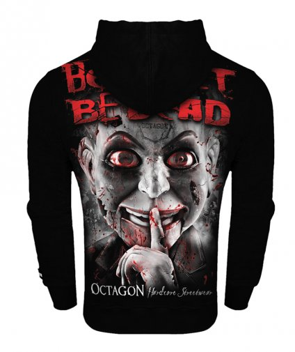 Bluza Octagon Be Quiet Or Be Dead z kapturem
