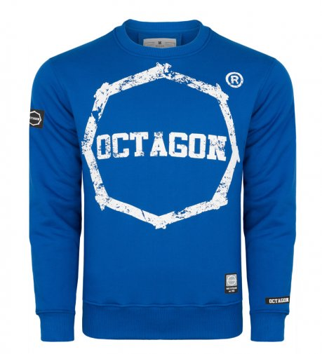 Bluza Octagon Logo Smash blue bez kaptura
