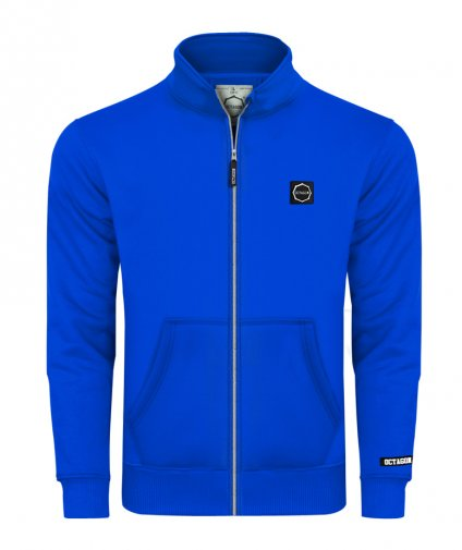 Bluza Octagon Small Logo ZIP bez kaptura blue