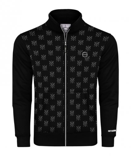 Bluza Octagon ZIP Types bez kaptura black