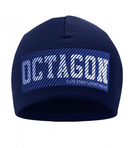 Czapka zimowa Octagon New Lines dark navy