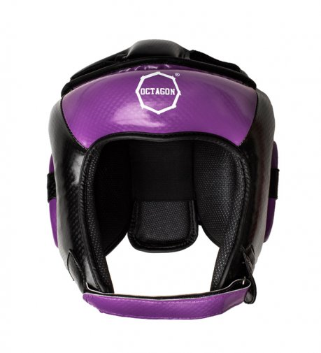 Kask bokserski Octagon Carbon purple