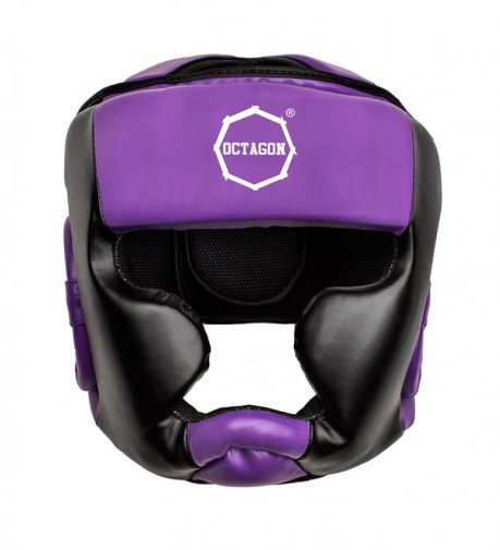 Kask bokserski Octagon Plain purple