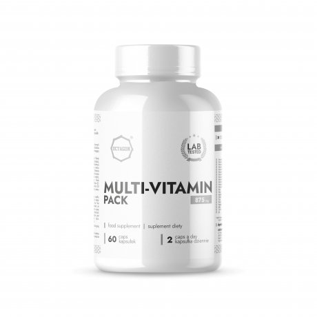 Octagon MULTI-VITAMIN Pack 875mg 60 kaps