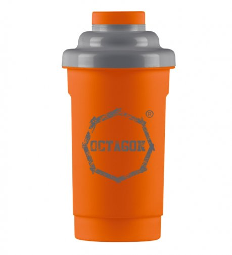 Shaker Octagon Logo orange/grey 0,5l