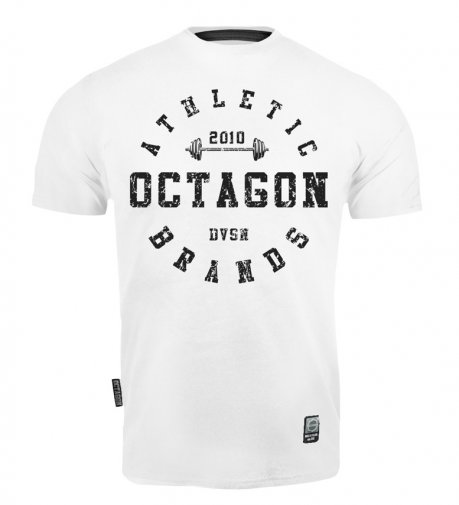 T-shirt Octagon Athletic Brands white [KOLEKCJA 2021]