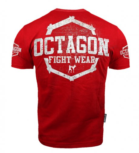 T-shirt Octagon Fight Wear II red