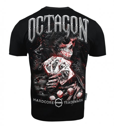 T-shirt Octagon Game Master black [KOLEKCJA 2021]