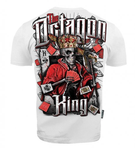 T-shirt Octagon King white