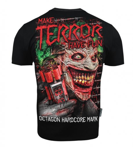 T-shirt Octagon Make Terror Have Fun black [KOLEKCJA 2021]
