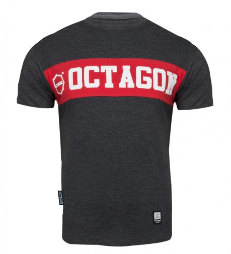 T-shirt Octagon Middle graphite