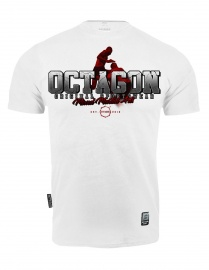 T-shirt Octagon Mixed Martial Arts 2 white [KOLEKCJA 2021]