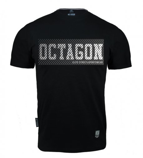T-shirt Octagon New Lines black