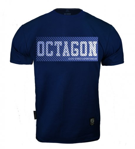 T-shirt Octagon New Lines dark navy