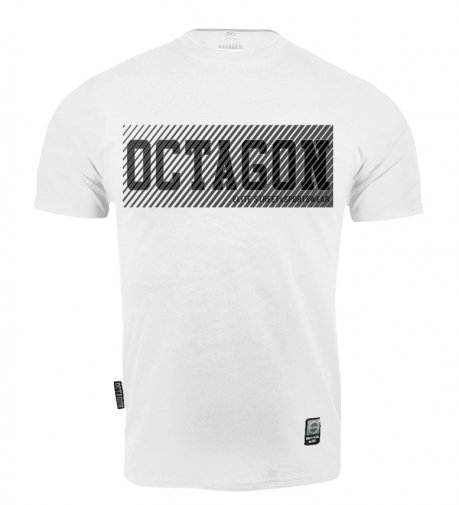 T-shirt Octagon New Lines white