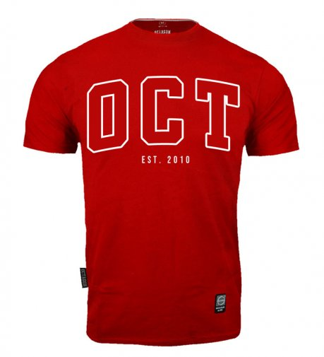 T-shirt Octagon OCT est. 2010 red