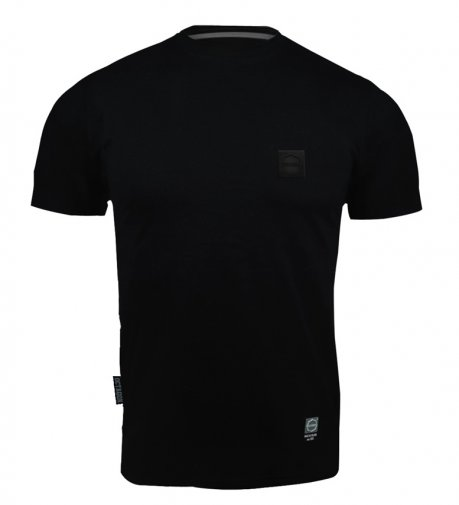 T-shirt Octagon Small Logo black/black [KOLEKCJA 2021]