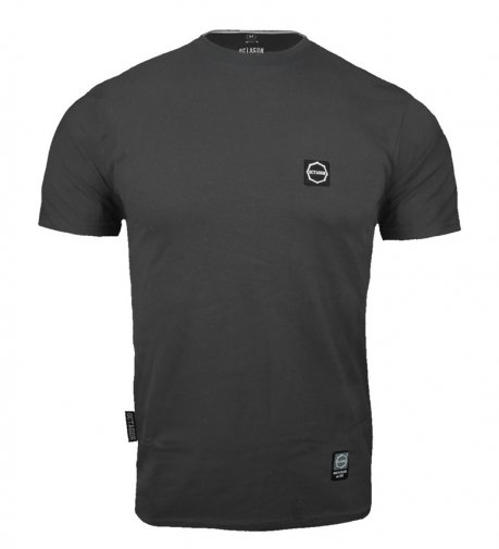 T-shirt Octagon Small Logo graphite