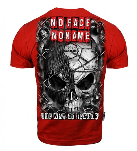 T-shirt Octagon The Way Of Terror red