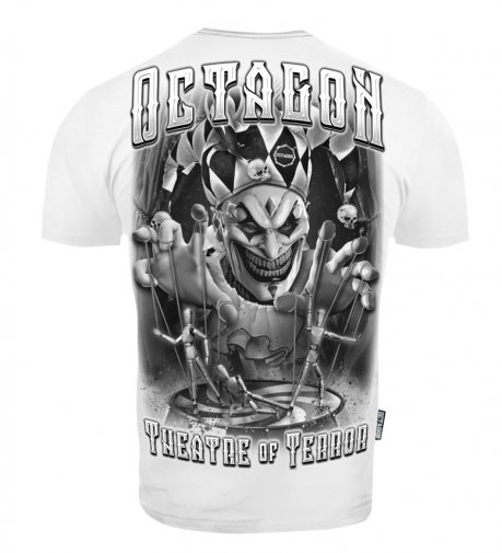 T-shirt Octagon Theatre Of Terror white [KOLEKCJA 2021]