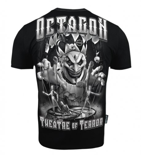 T-shirt Octagon Theatre Of Terror black [KOLEKCJA 2021]