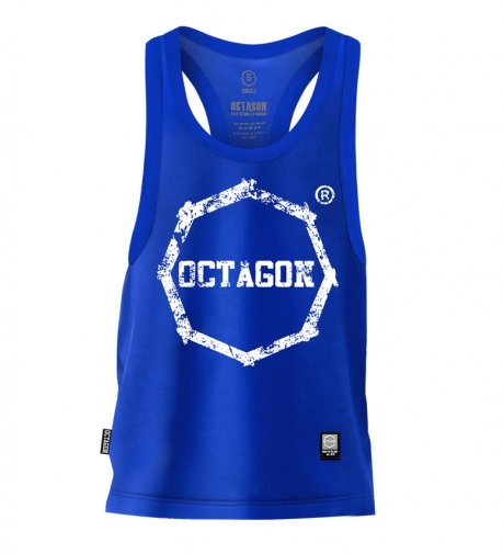Tank Top Octagon Logo Smash blue