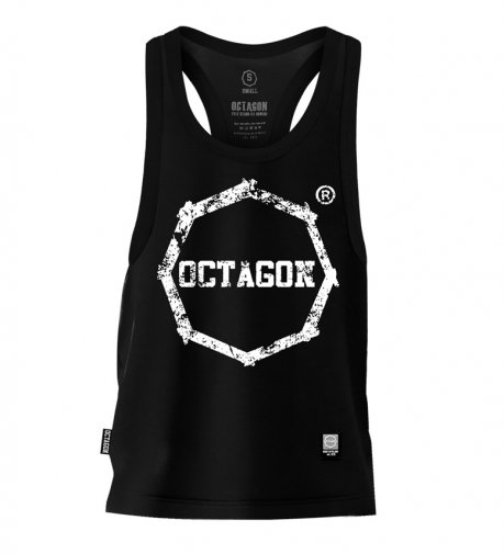 Tank Top Octagon Logo Smash black