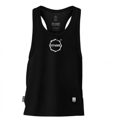 Tank Top Octagon Logo Smash Small black