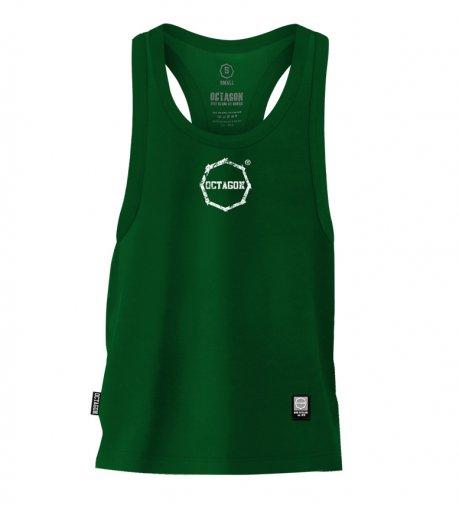 Tank Top Octagon Logo Smash Small green