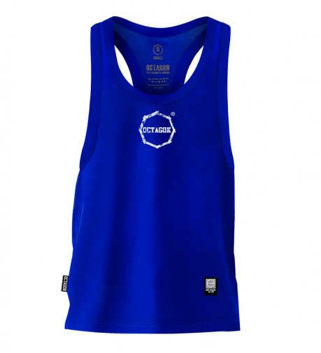 Tank Top Octagon Logo Smash Small blue