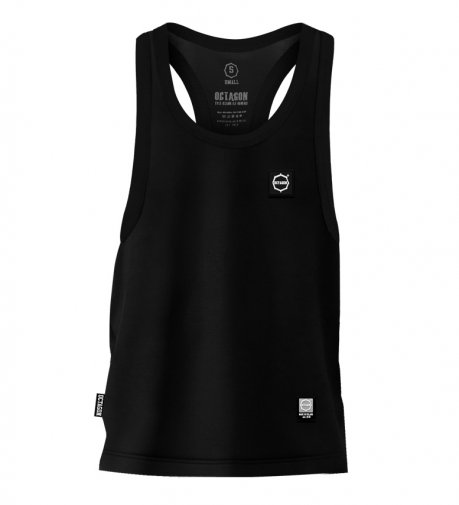 Tank Top Octagon Small Logo black